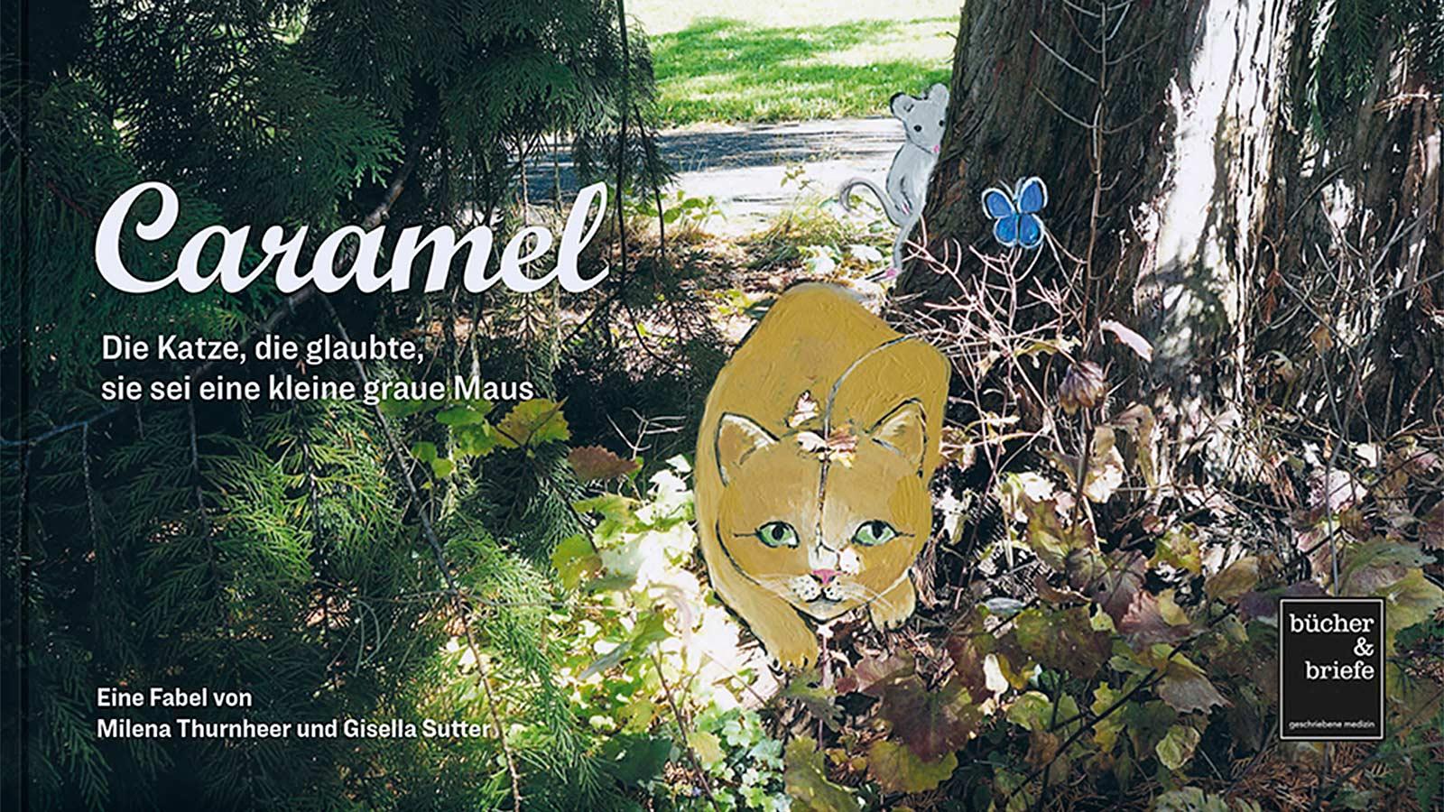 Kinderbuch Caramel - Die Katze, die glaubte, sie sei eine kleine graue Maus